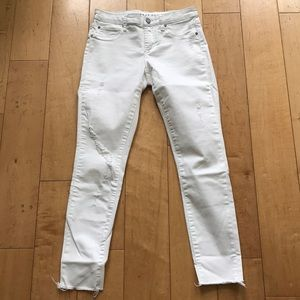 Articles of Society White Distressed Jeans NWOT